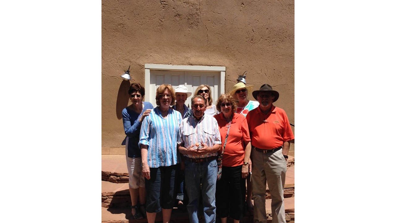 My students in the class I taught entitled Colonial Churches in Taos